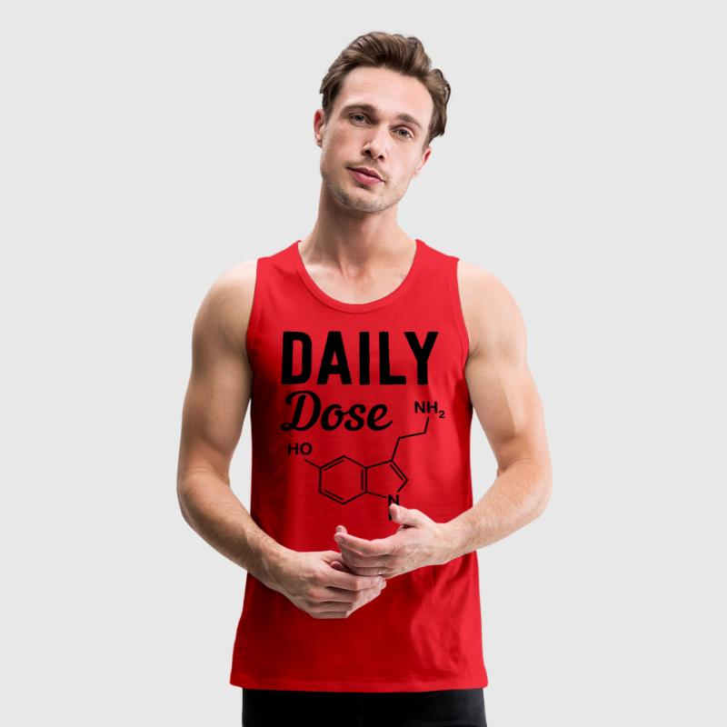 Daily dose of serotonin Sportswear - Men's Premium Tank