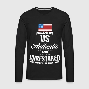 USA - Made in US most parts still in working order - Men's Premium Long Sleeve T-Shirt
