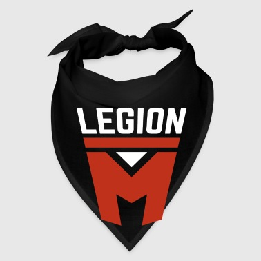 Legion M Black Coffee Mug - Bandana