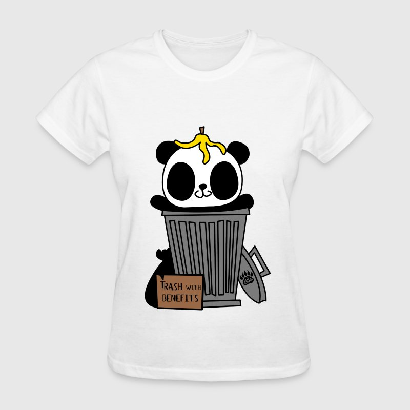 Trash with Benefits - Women's T-Shirt