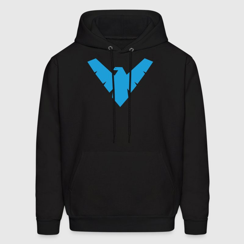 Distressed Nightwing - Men's Hoodie