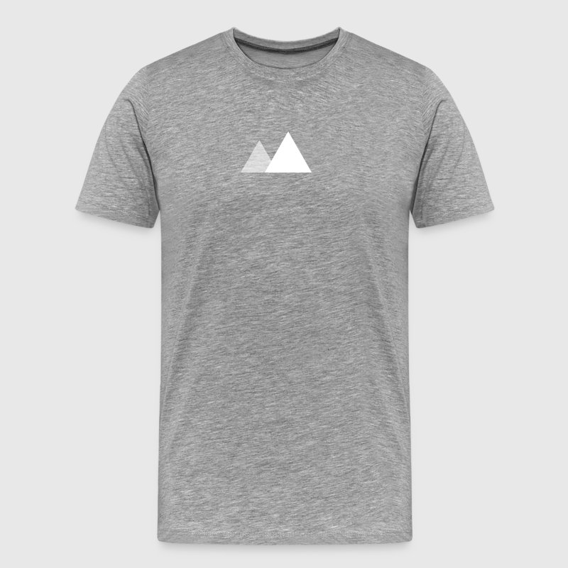 Two Mountain T-Shirt - Men's Premium T-Shirt