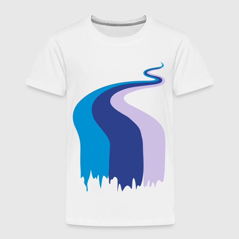 Color, flow, river Baby & Toddler Shirts - Toddler Premium T-Shirt