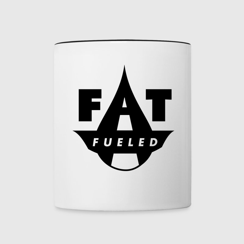 Fat Fueled Mugs & Drinkware - Contrast Coffee Mug