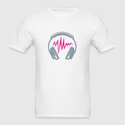 audio equalizer dj headphone music zik2 Sportswear - Men's T-Shirt