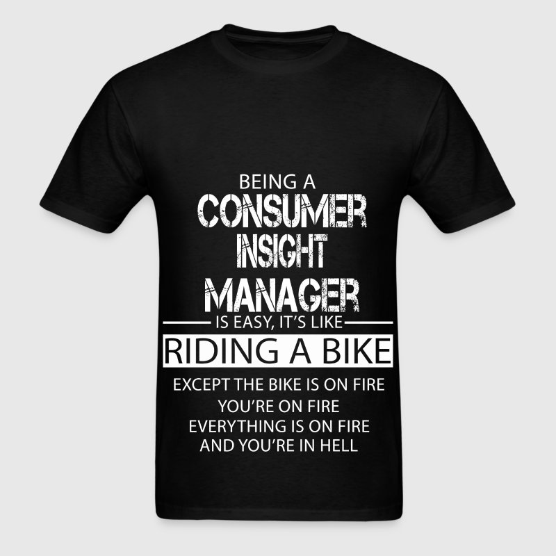Consumer Insight Manager T-Shirts - Men's T-Shirt