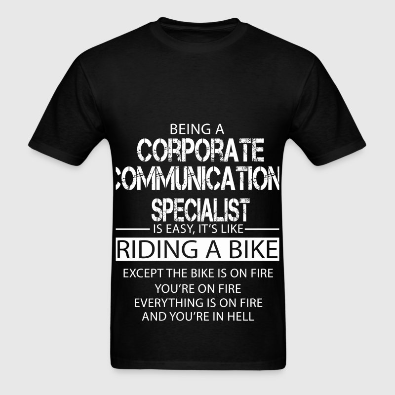 Corporate Communications Specialist T-Shirts - Men's T-Shirt