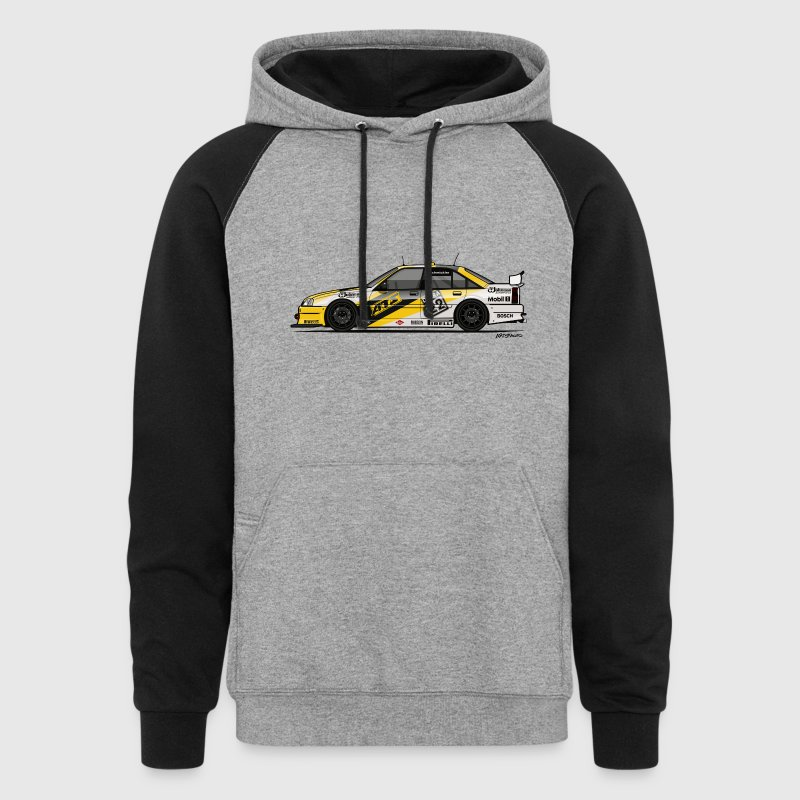 Opel Omega A Irmscher Evo 500 ATS DTM Touring Car Hoodies - Colorblock Hoodie
