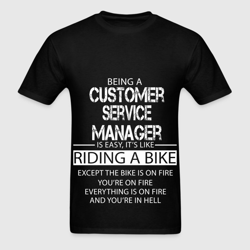 Customer Service Manager T-Shirts - Men's T-Shirt