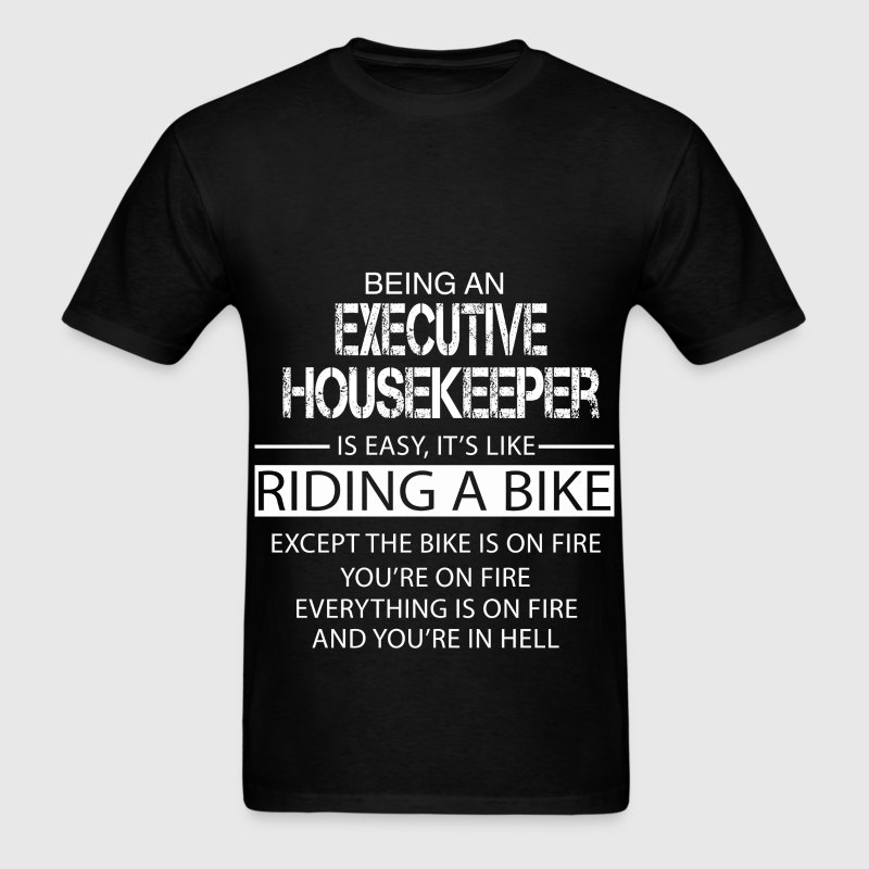 Executive Housekeeper T-Shirts - Men's T-Shirt