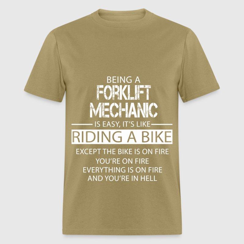 Forklift Mechanic TShirt Spreadshirt - Forklift mechanic
