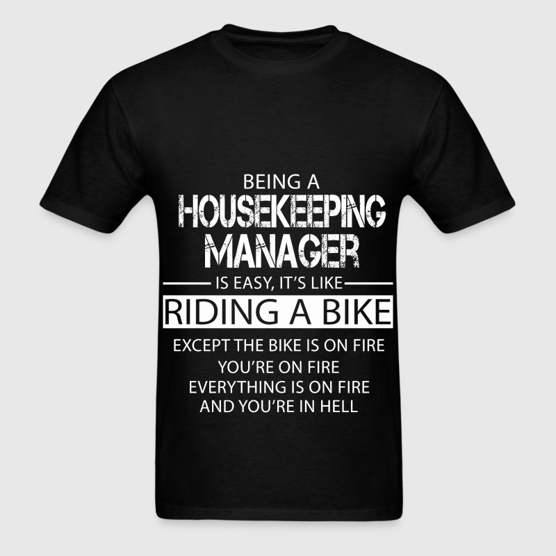 Housekeeping Manager T-Shirts - Men's T-Shirt