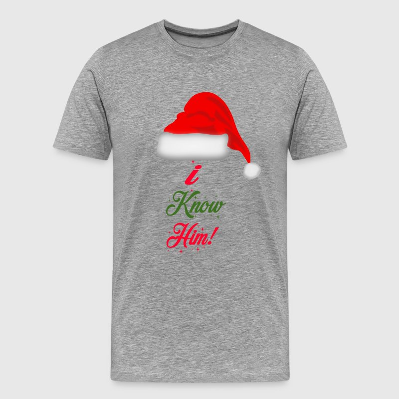 Elf Quote - I Know Him! T-Shirts - Men's Premium T-Shirt