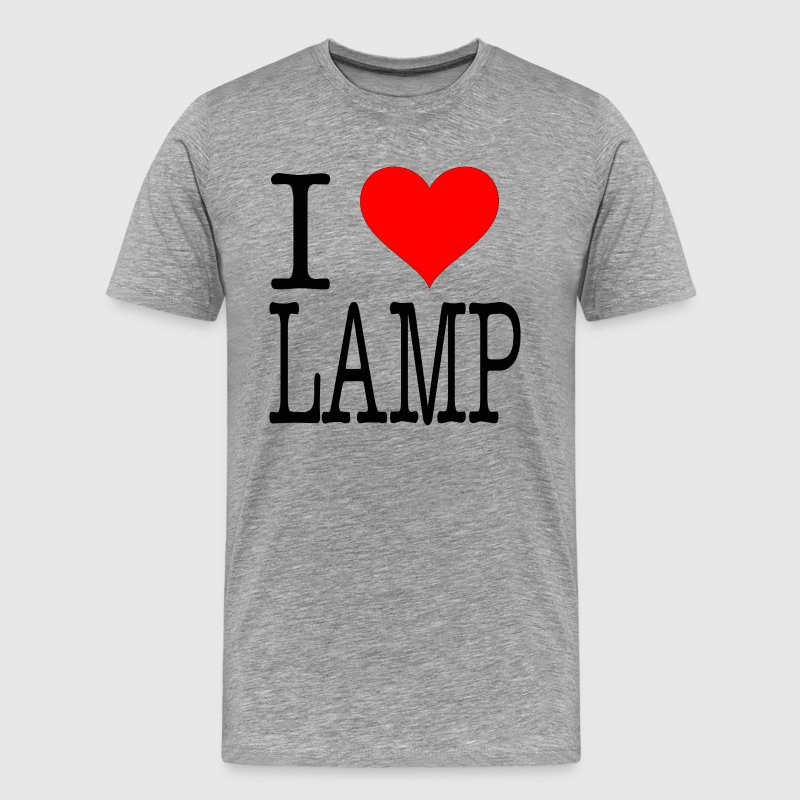 Anchorman Quote - I Love Lamp T-Shirts - Men's Premium T-Shirt