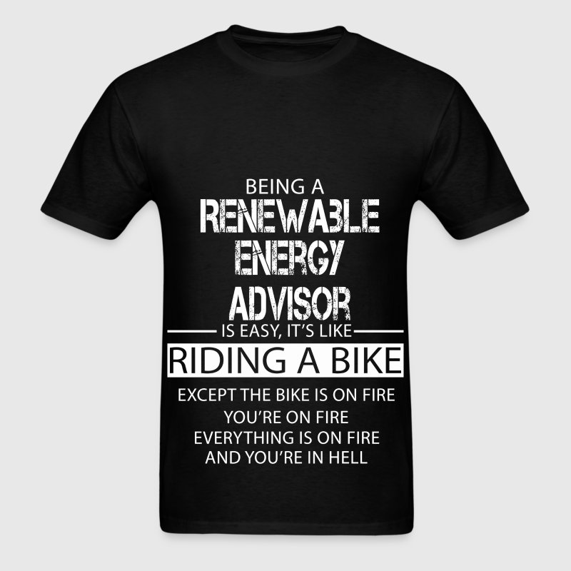 Renewable Energy Advisor T-Shirts - Men's T-Shirt