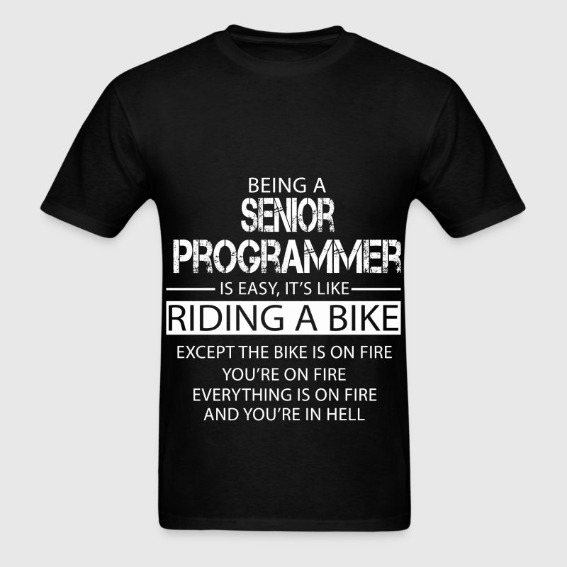 Senior Programmer T-Shirts - Men's T-Shirt
