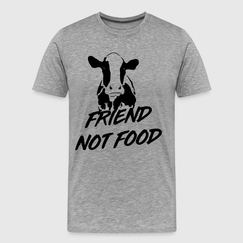 Cows are Friends not Food T-Shirts - Men's Premium T-Shirt