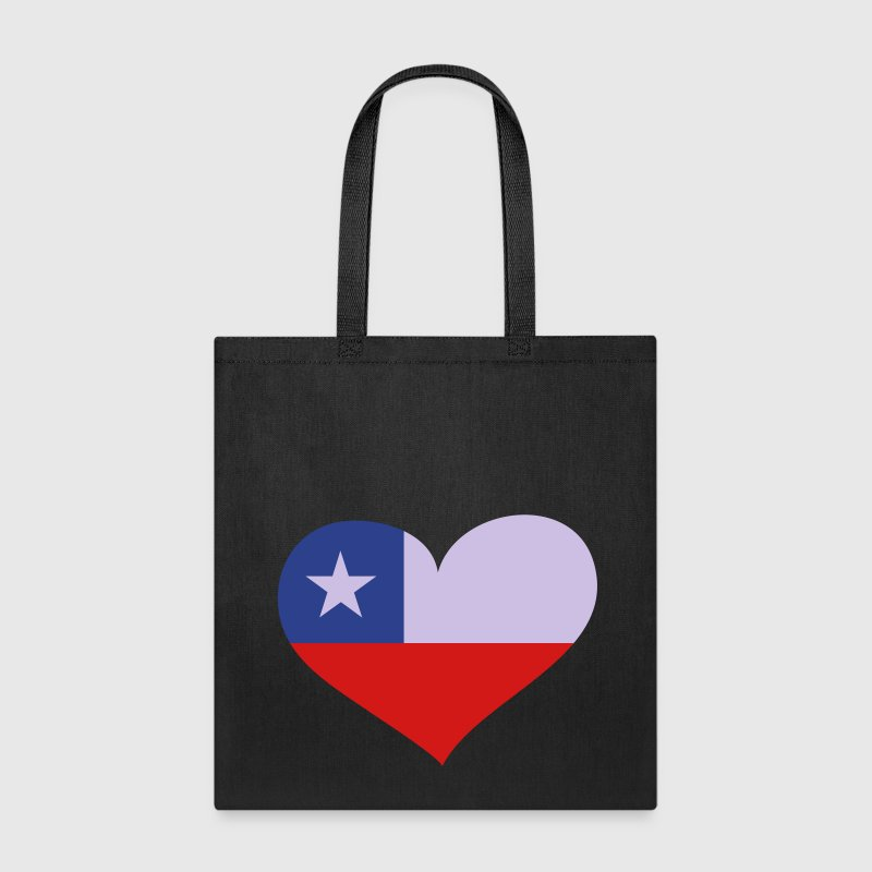 Chile Heart; Love Chile Bags & backpacks - Tote Bag