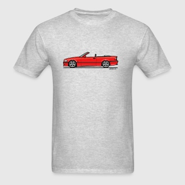3 Series E36 Red Convertible Sportswear - Men's T-Shirt