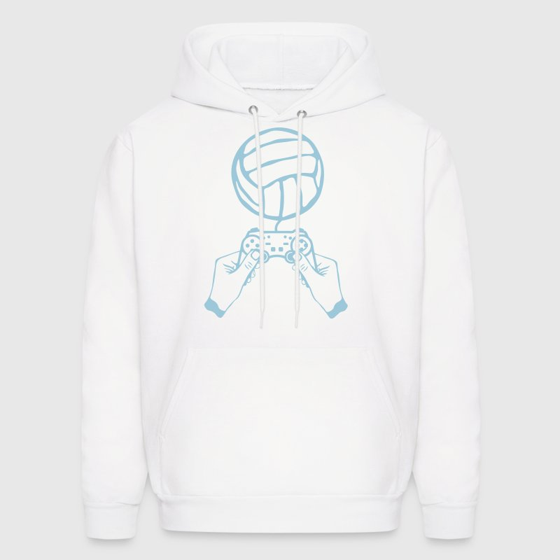 volleyball paddle hand joystick games Hoodies - Men's Hoodie