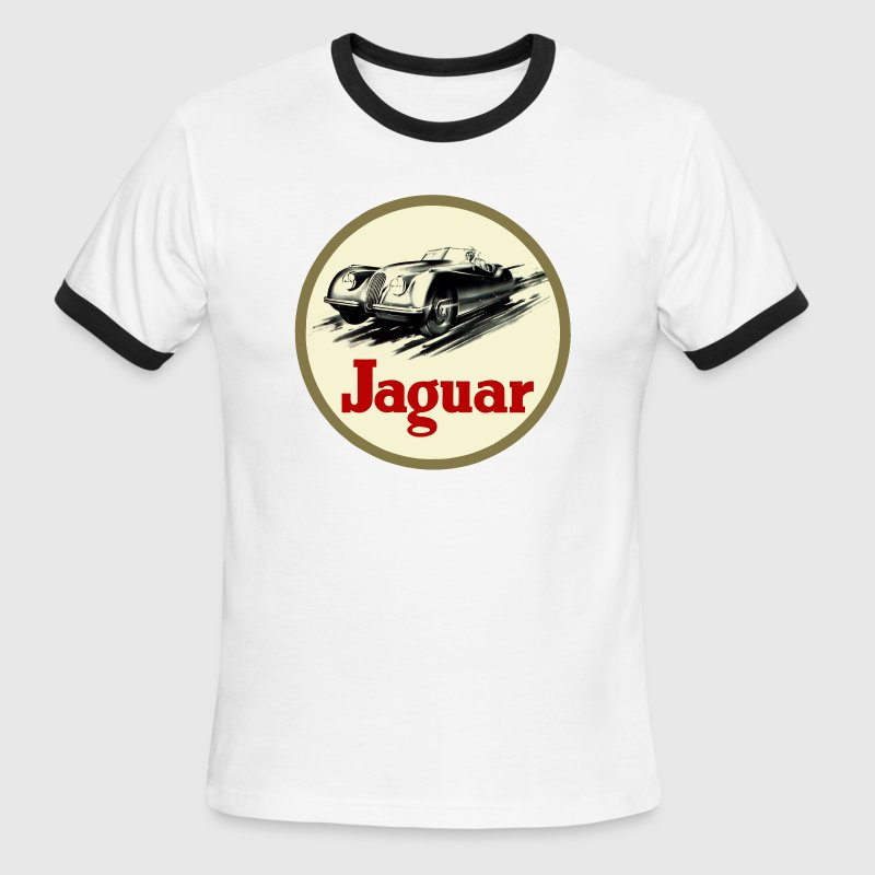 XK120 T-Shirts - Men's Ringer T-Shirt
