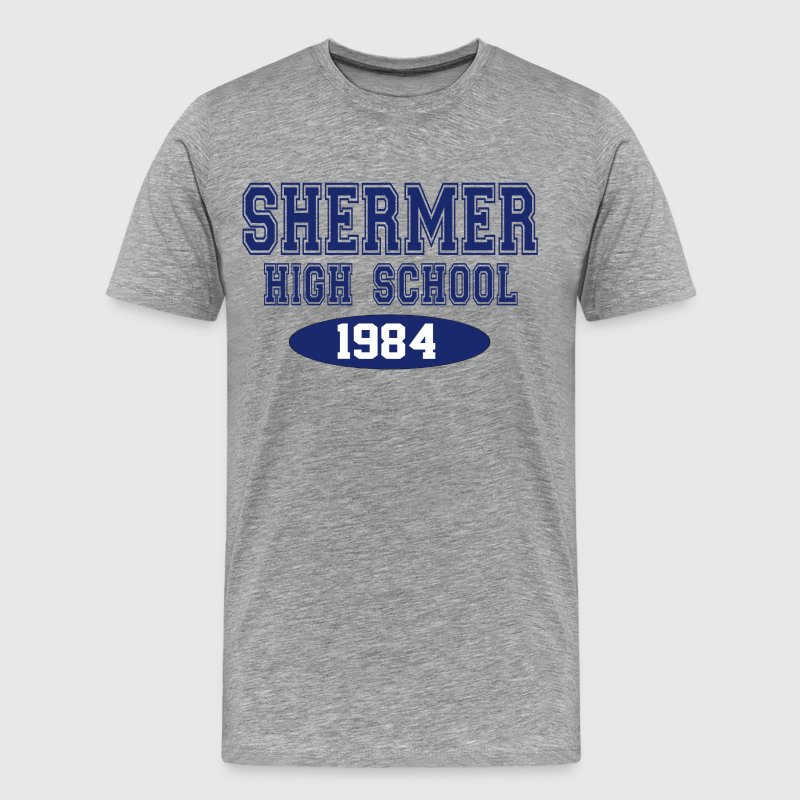 The Breakfast Club - Shermer High School 1984 T-Shirts - Men's Premium T-Shirt