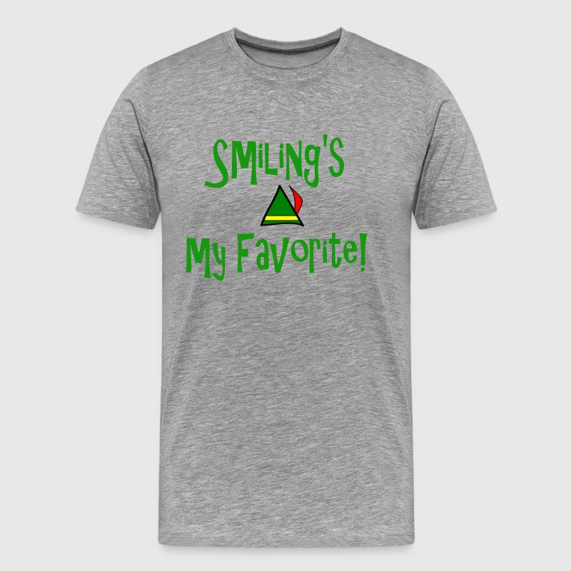 Elf - Smiling's My Favorite T-Shirts - Men's Premium T-Shirt