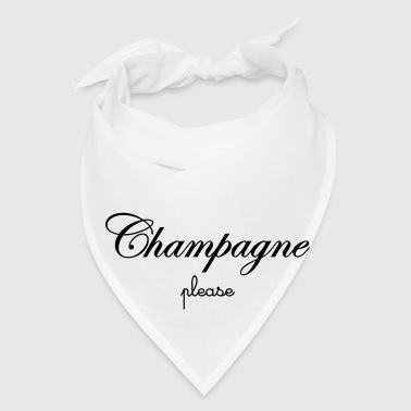 Champagne Please Mugs & Drinkware - Bandana