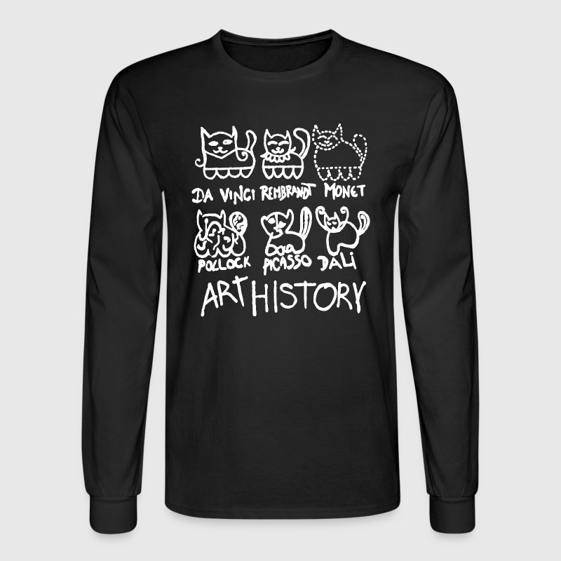 Art History Shirt - Men's Long Sleeve T-Shirt