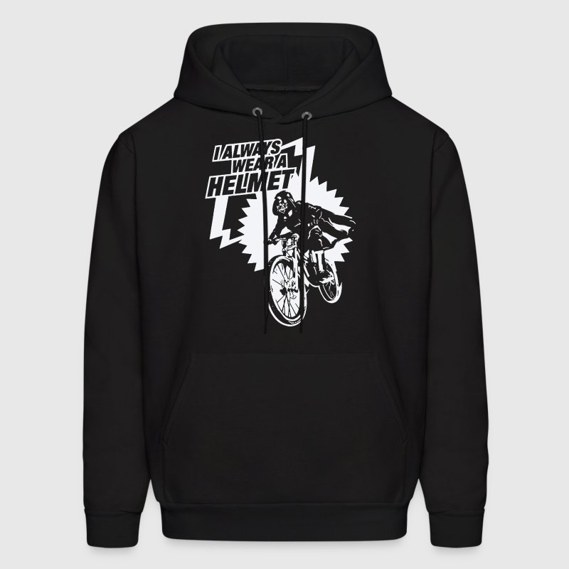 Always Wear Helmet - Men's Hoodie
