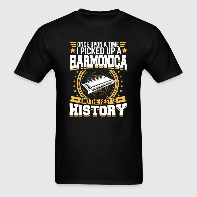 Harmonica And the Rest is History T-Shirt T-Shirts - Men's T-Shirt