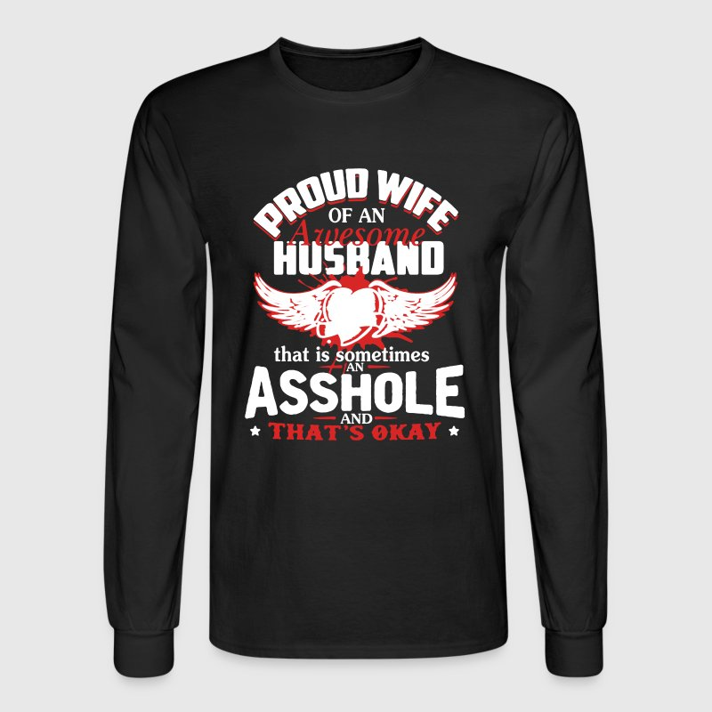 Awesome Husband Shirt - Men's Long Sleeve T-Shirt