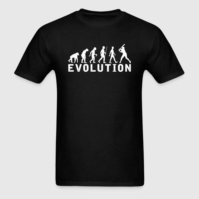 Female Baseball Evolution T-Shirt T-Shirts - Men's T-Shirt