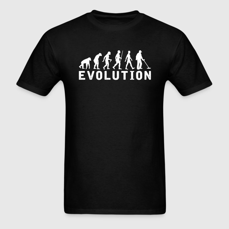 Metal Detector Evolution T-Shirt T-Shirts - Men's T-Shirt