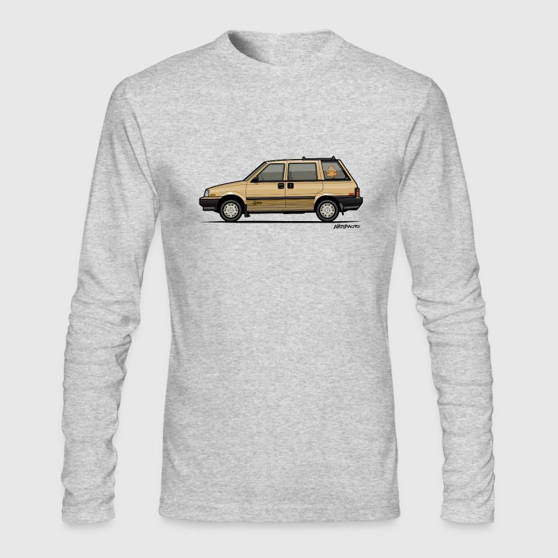 Nissan Stanza 4wd Multi Wagon Datsun Prairie Gold Long Sleeve Shirts - Men's Long Sleeve T-Shirt by Next Level
