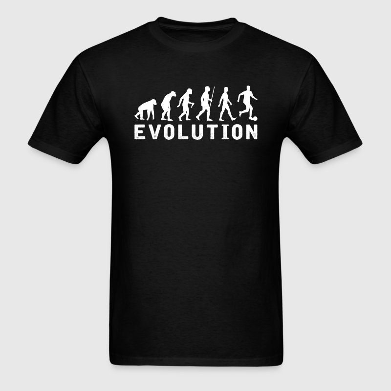 Soccer Evolution T-Shirt T-Shirts - Men's T-Shirt