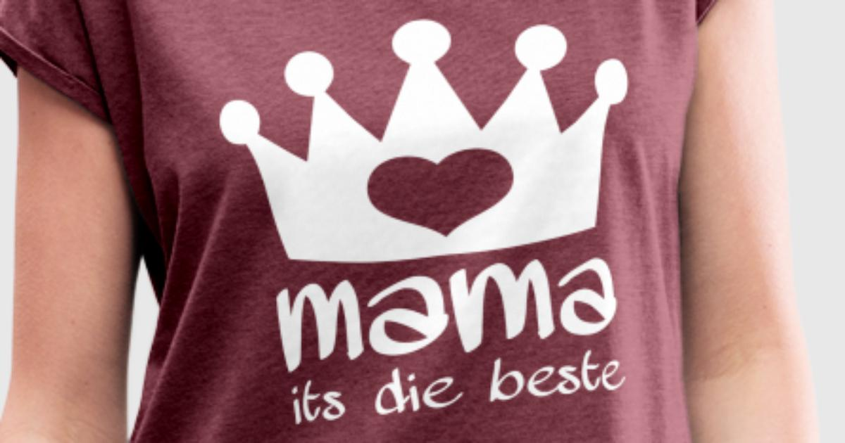 mama its die beste t shirt spreadshirt. Black Bedroom Furniture Sets. Home Design Ideas
