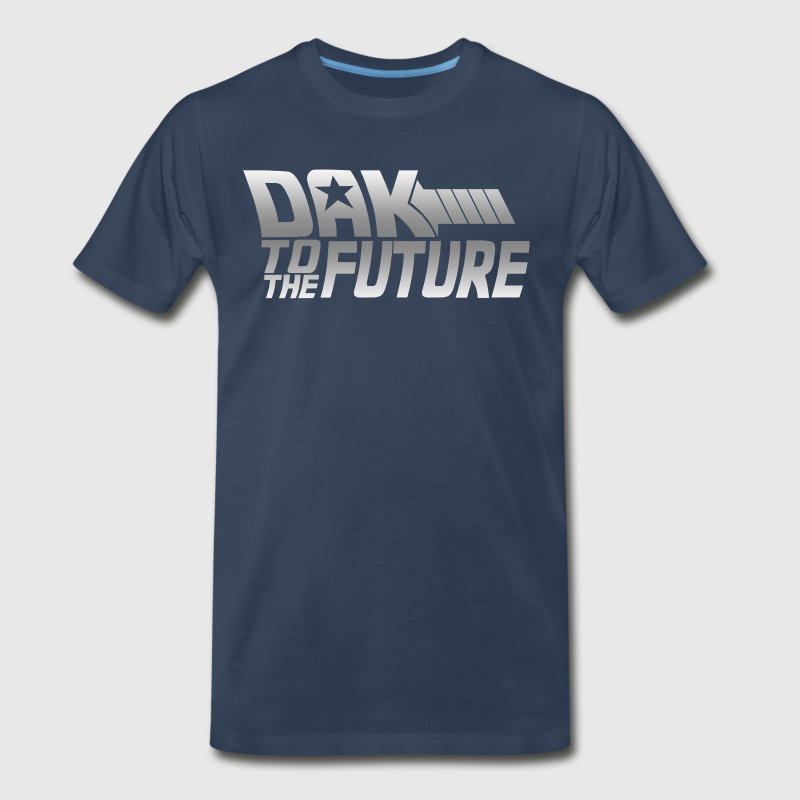 Dak To The Future T-Shirts - Men's Premium T-Shirt