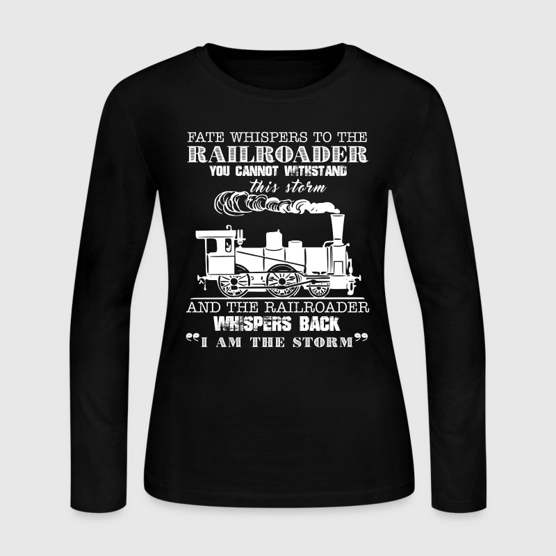Railroader Shirt - Women's Long Sleeve Jersey T-Shirt