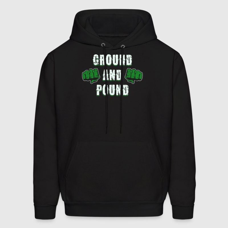 GROUND AND POUND - Men's Hoodie