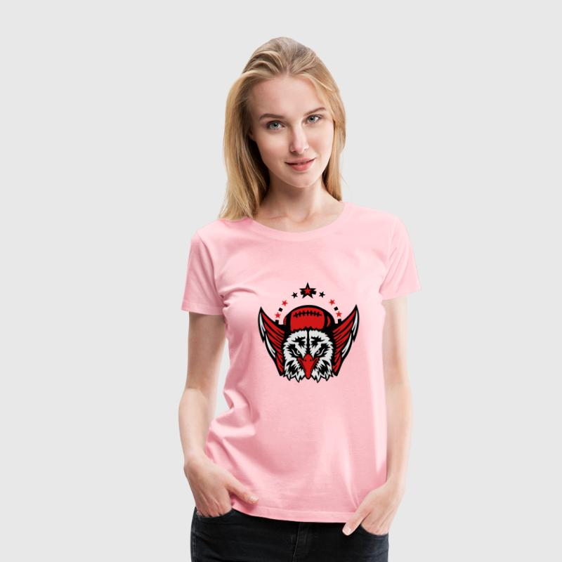 football club logo us american eagle T-Shirts - Women's Premium T-Shirt