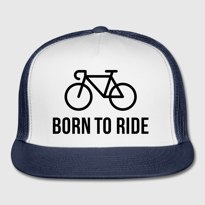Born To Ride (Racing Bicycle / Bike) Sportswear - Trucker Cap