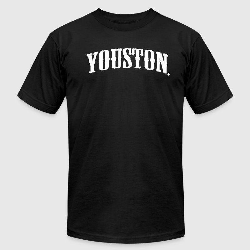 YOUSTON - Men's Fine Jersey T-Shirt