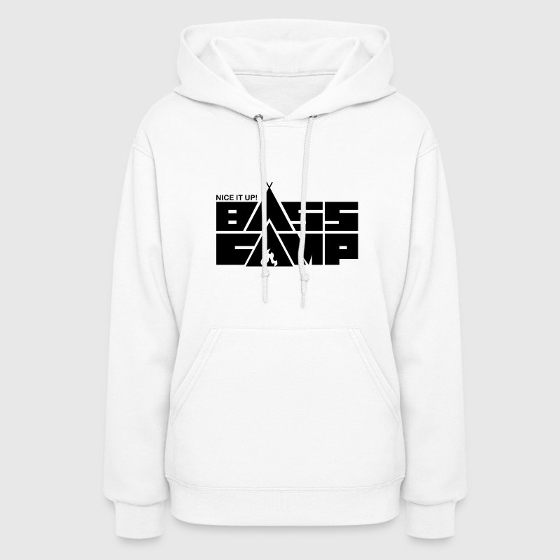 Nice it up! Bass Camp logo - Black Hoodies - Women's Hoodie