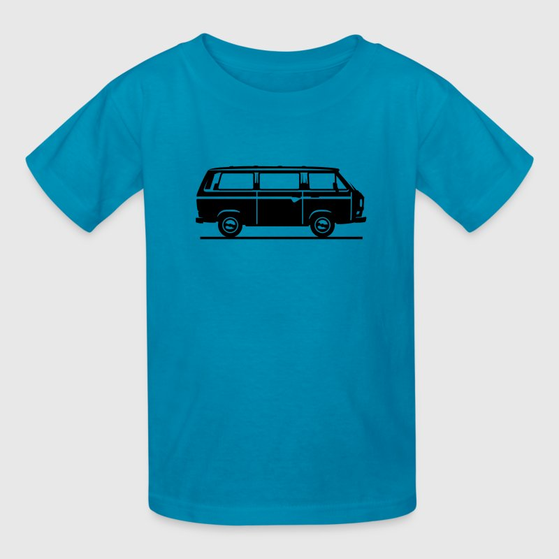T3 - Drive by Bus (+ your Text) Kids' Shirts - Kids' T-Shirt