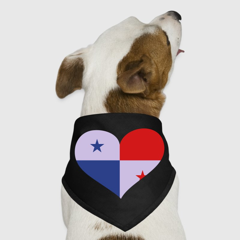 Panama Heart; Love Panama Other - Dog Bandana