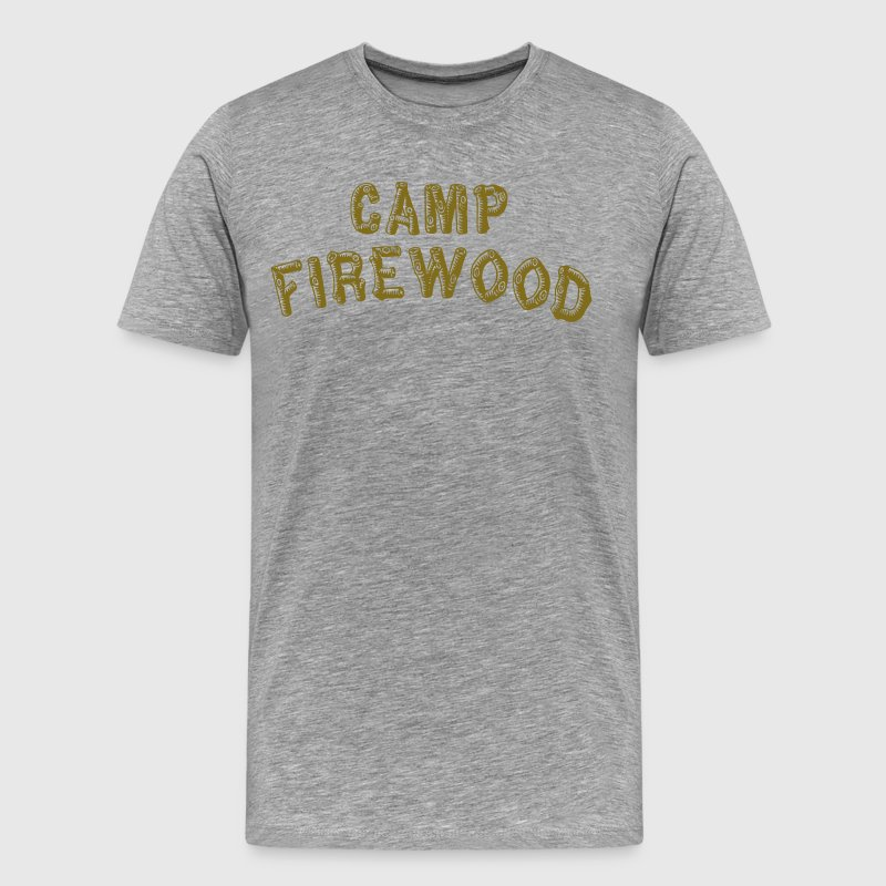 Wet Hot American Summer - Camp Firewood T-Shirts - Men's Premium T-Shirt