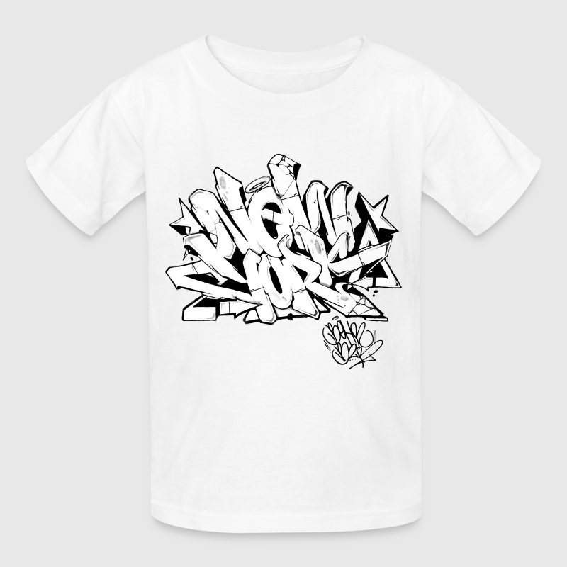 T Shirt Design York: Behr - New York Graffiti Design T-Shirt