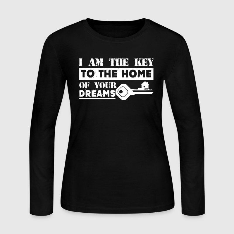 Real Estate Shirts - Women's Long Sleeve Jersey T-Shirt