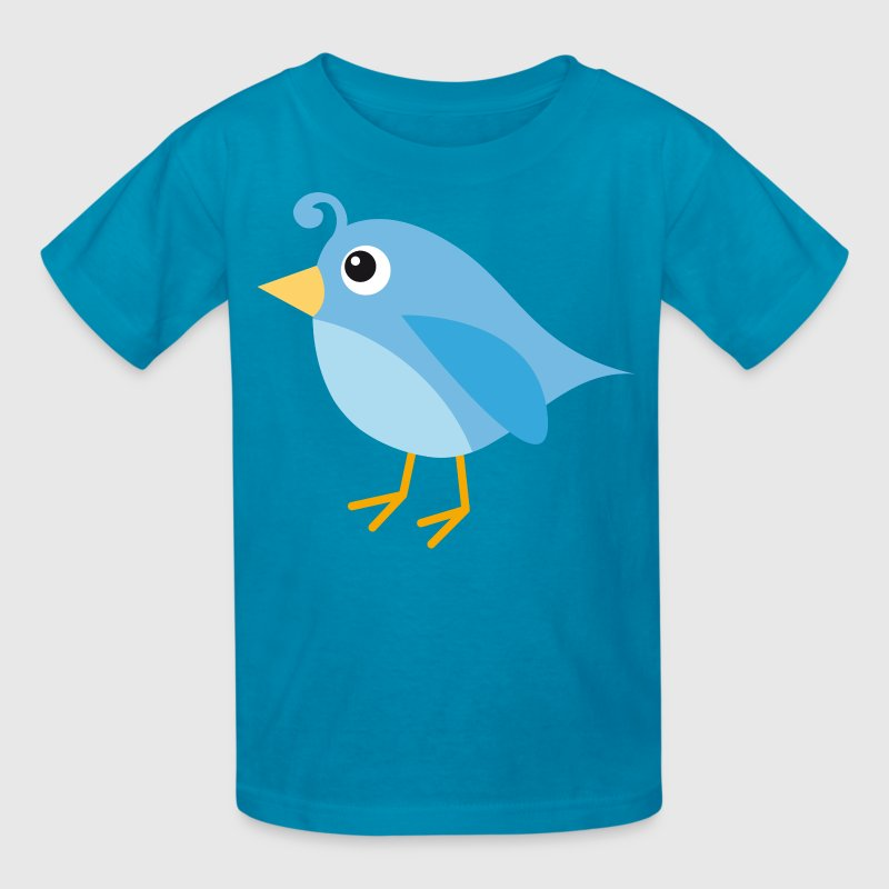 Blue Bird Cute Kids Gift Kids' Shirts - Kids' T-Shirt